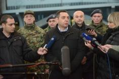 Minister Vulin: 29 new items of weapons and military equipment have been introduced into Serbian Armed Forces in 2018