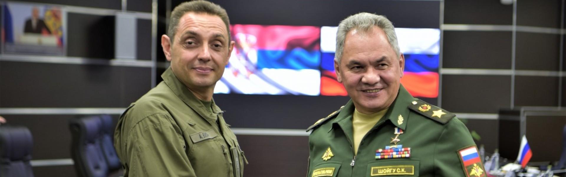 Министар Вулин: Споразум врховних команданата Вучића и Путина се спроводи и наставиће да даје резултате