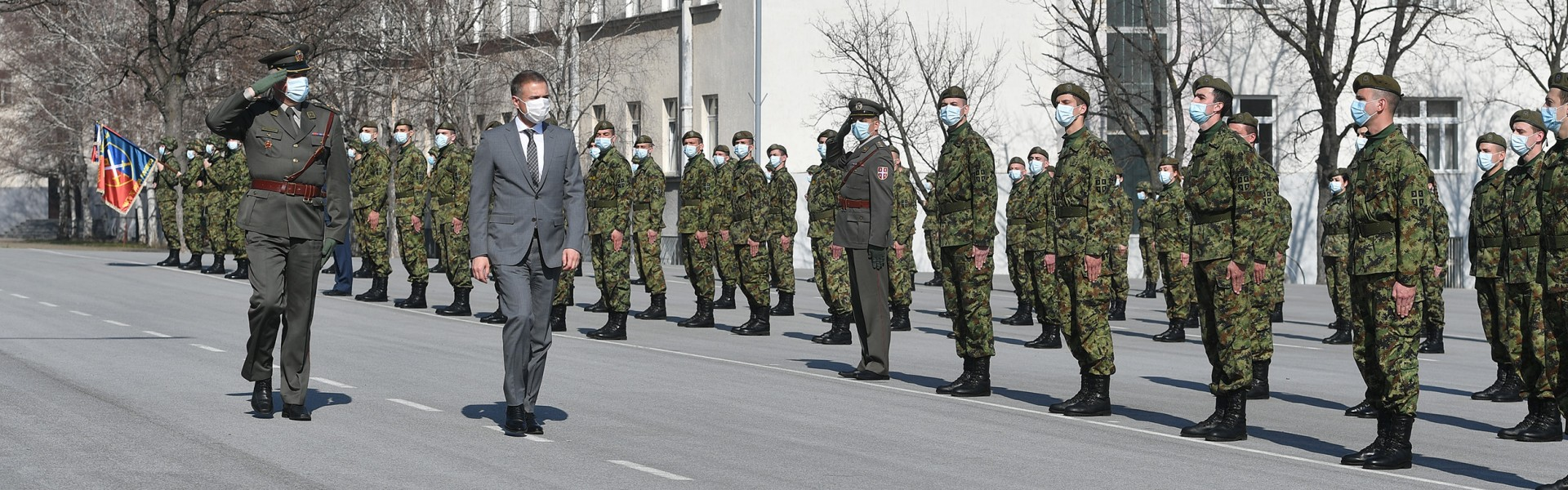 Minister Stefanović attends youngest reserve officers' promotion ceremony