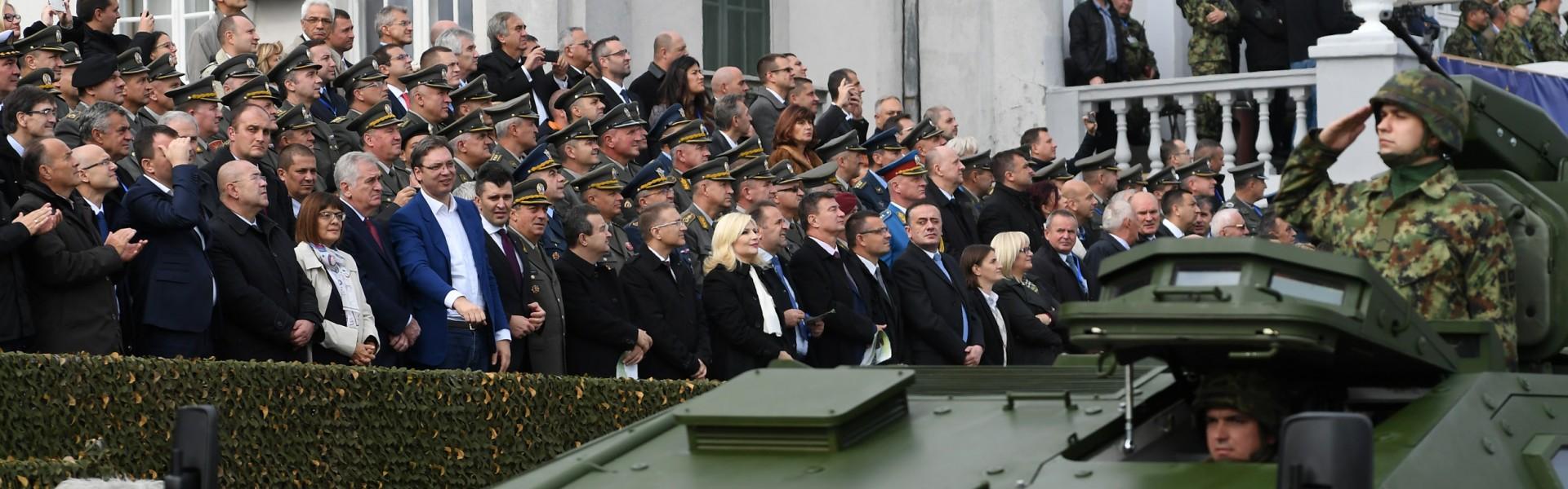Војска Србије на свечаности у Новом Саду
