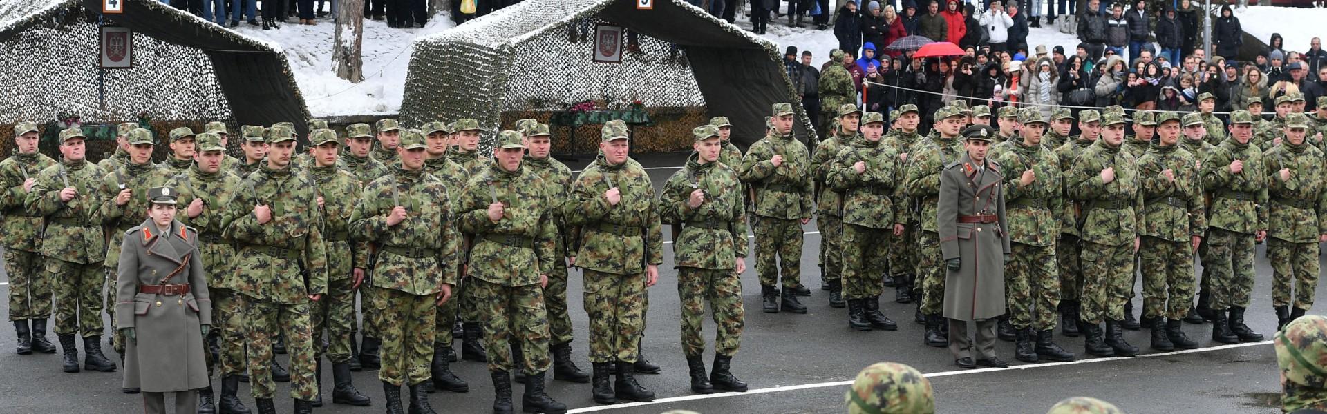 Војници мартовске генерације положили заклетву