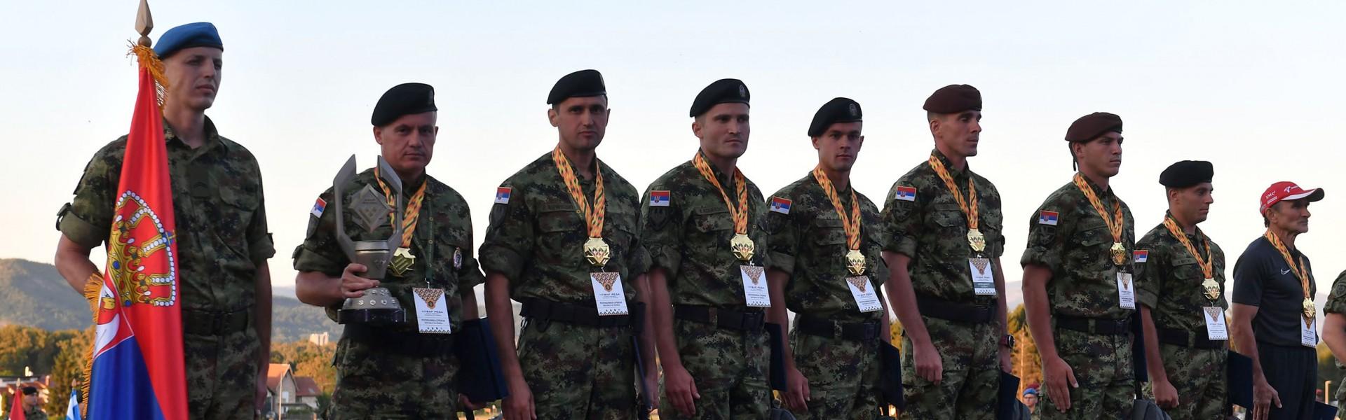 Триумф команды Вооруженных сил Сербии в конкурсе