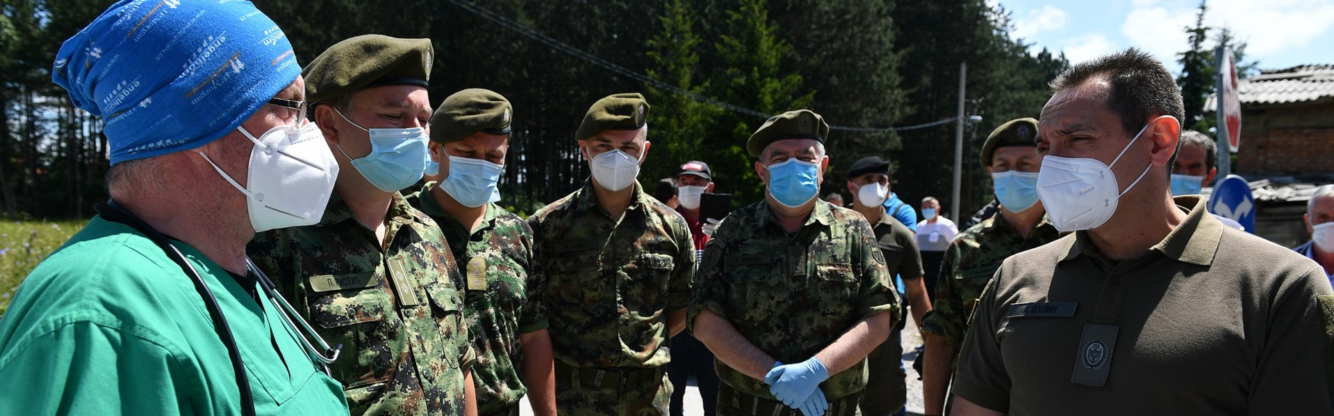 Minister Vulin in Sjenica: As long as there is a risk of infection, the Serbian Armed Forces will be there to help Sjenica, Tutin and Novi Pazar