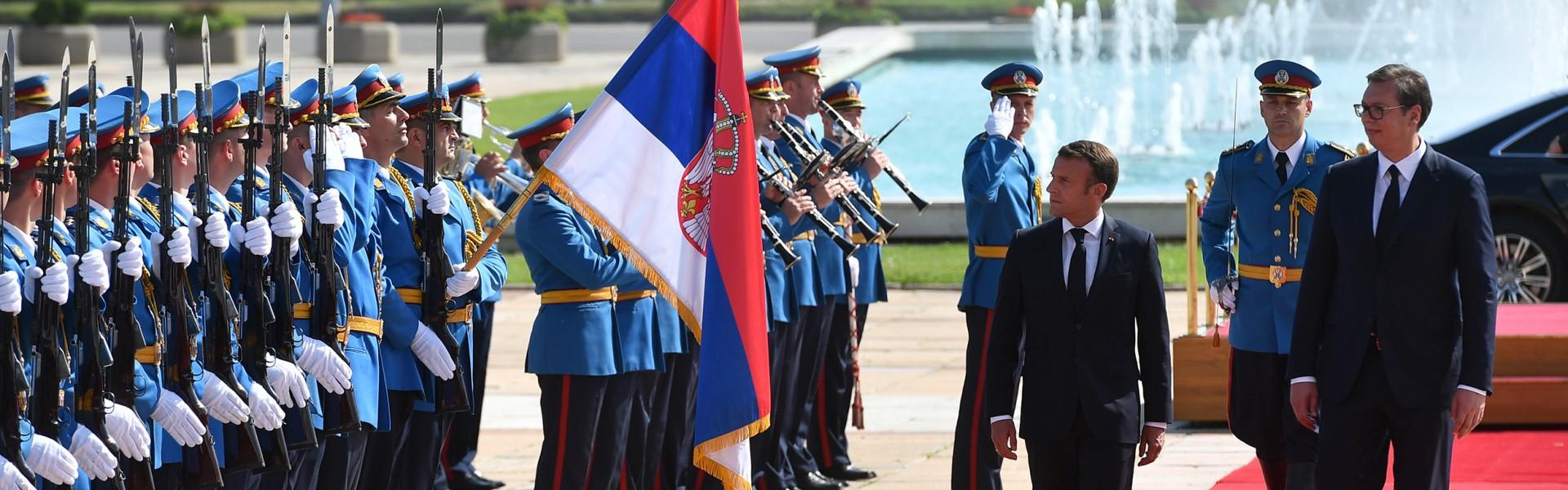 Poseta predsednika Francuske Republike Makrona Republici Srbiji