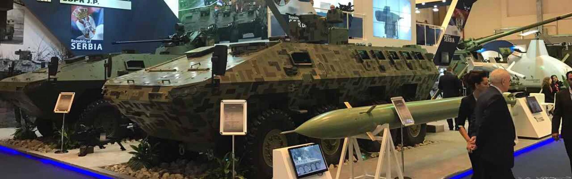 Proizvodi srpske vojne industrije zvezde Sajma naoružanja u Abu Dabiju