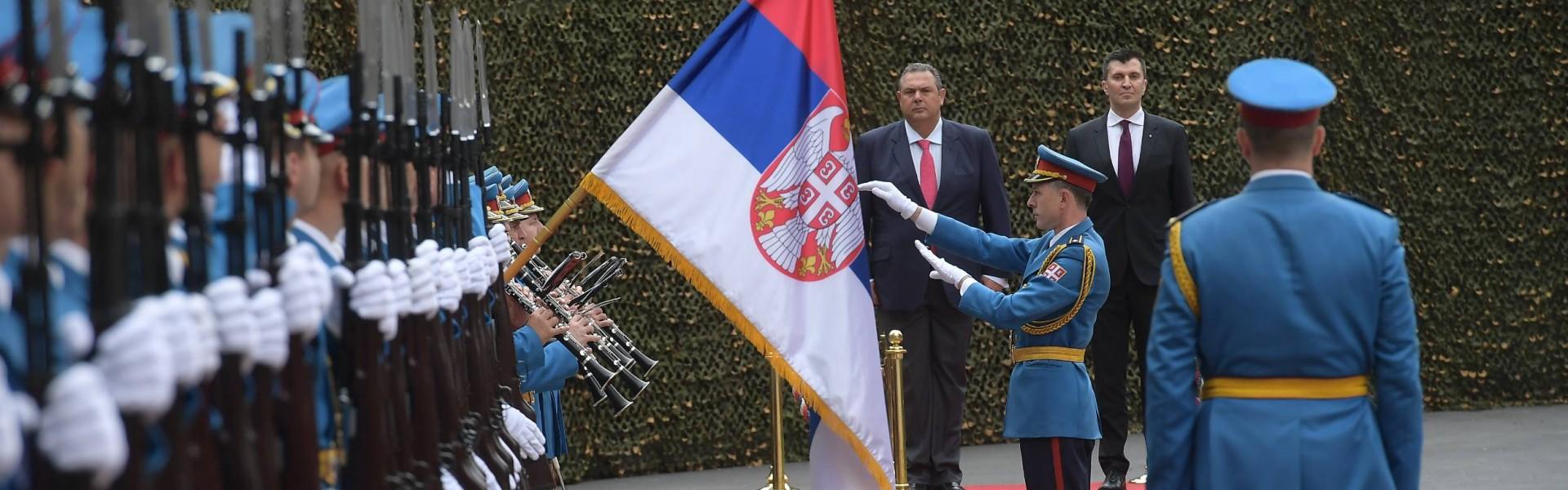 Састанак министара одбрана Србије и Грчке