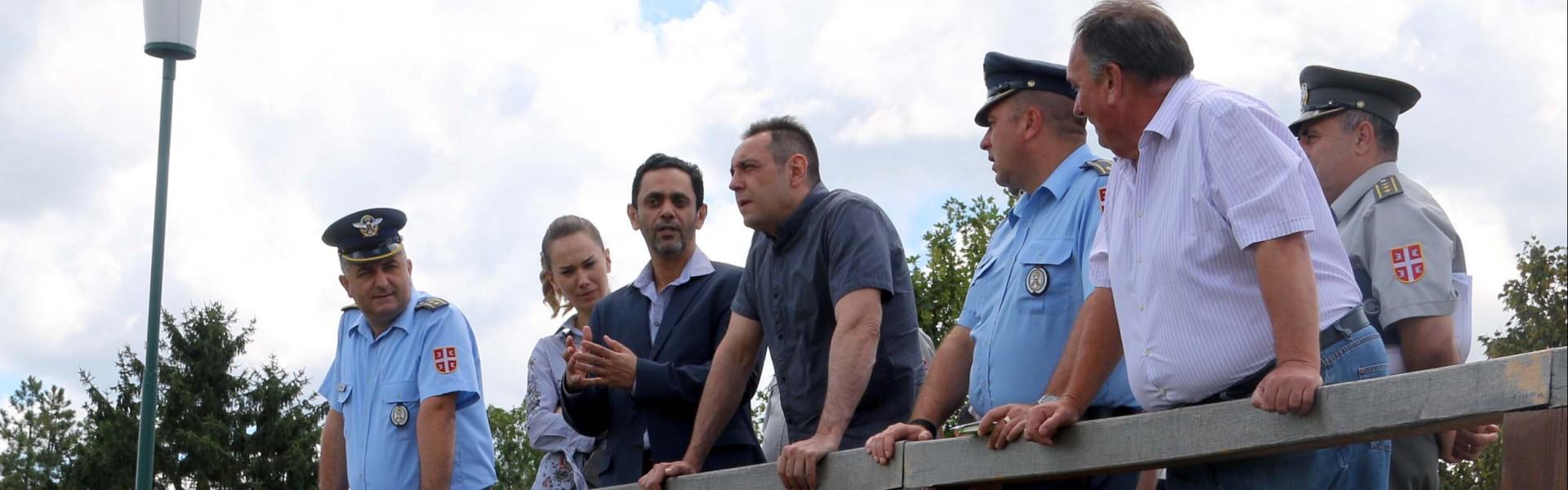 """Министар Вулин: Ергелу """"Карађорђево"""" Војска обнавља својим новцем, знањем и људима"""