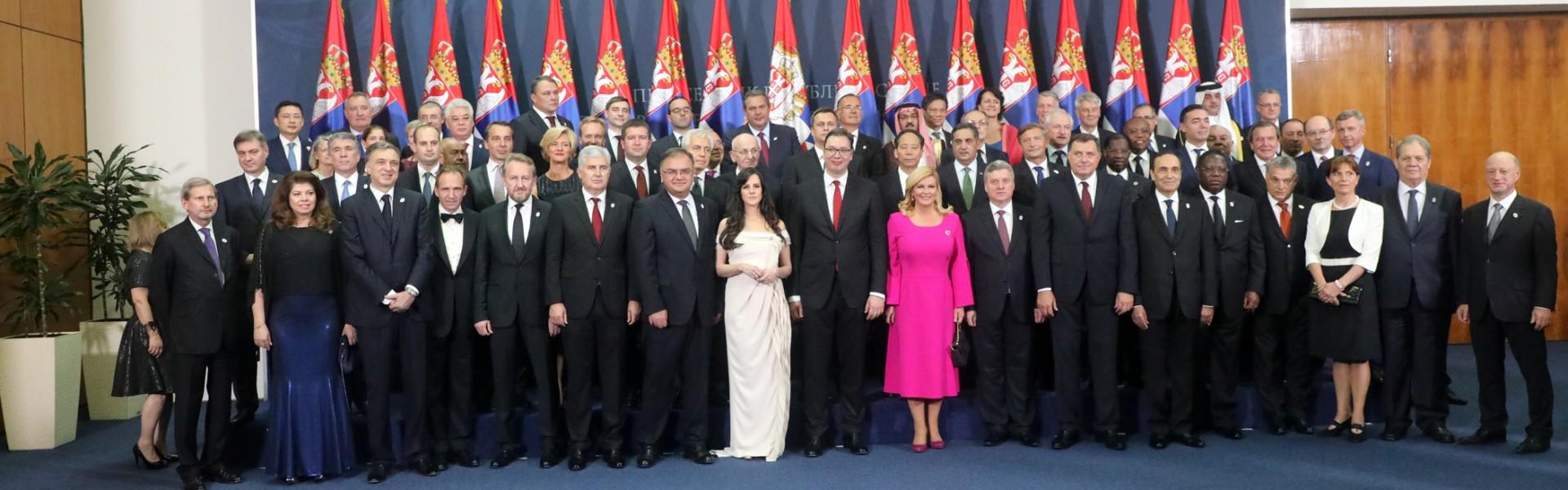 Свечаност поводом инаугурације Александра Вучића за председника Србије