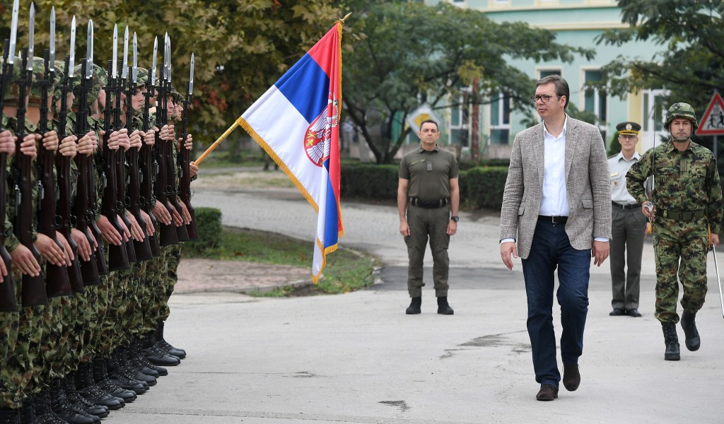 President Vučić Serbian Armed Forces is stronger than ever and it will be even stronger