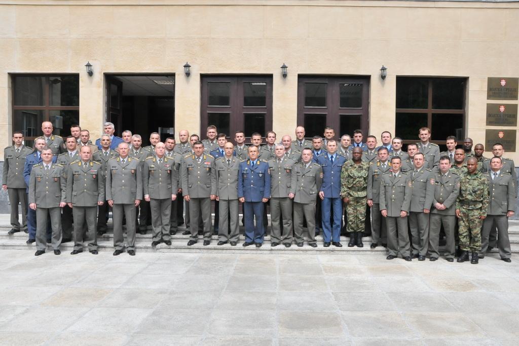 Обраћање генерала Диковића слушаоцима Командно штабног усавршавања