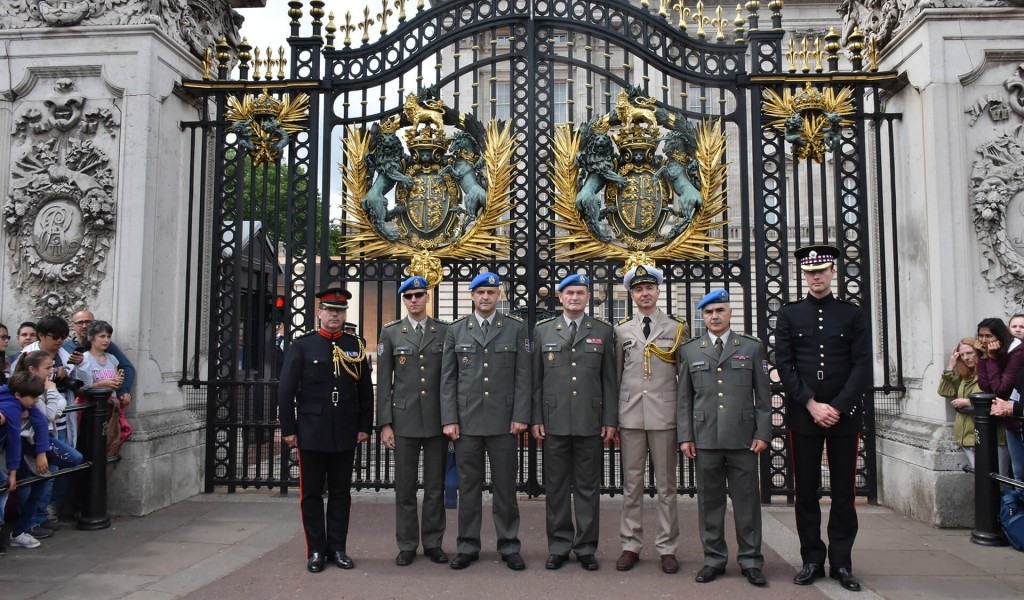 Visit of Serbian Armed Forces Guards delegation to United Kingdom