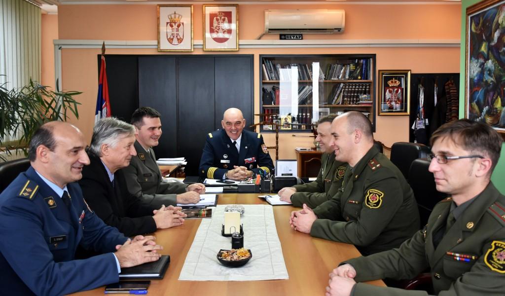 Poseta beloruske delegacije Upravi za odnose sa javnošću
