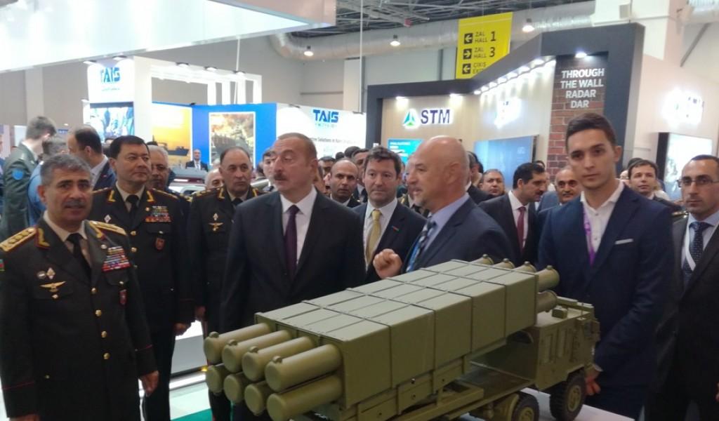 Делегација Министарства одбране на сајму наоружања у Азербејџану