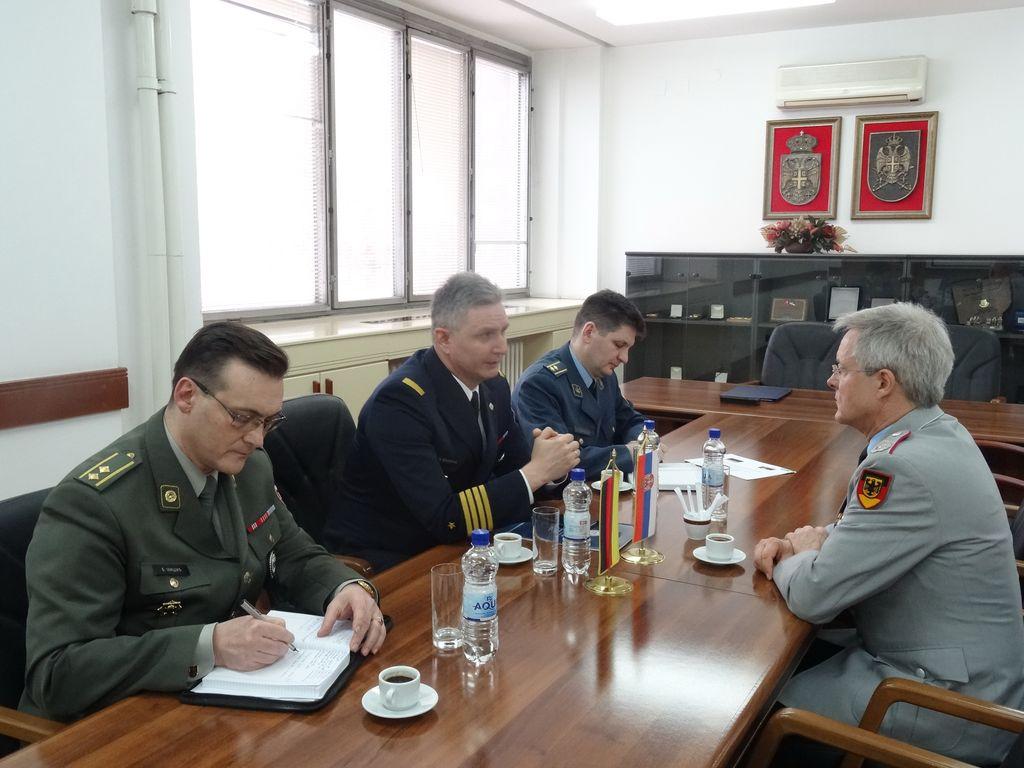Потписан План билатералне војне сарадње са Немачком