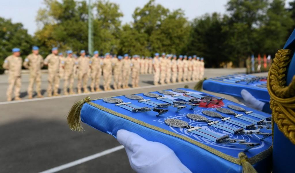 Додела одликовања припадницима контингента ангажованог у мисији УН на Кипру