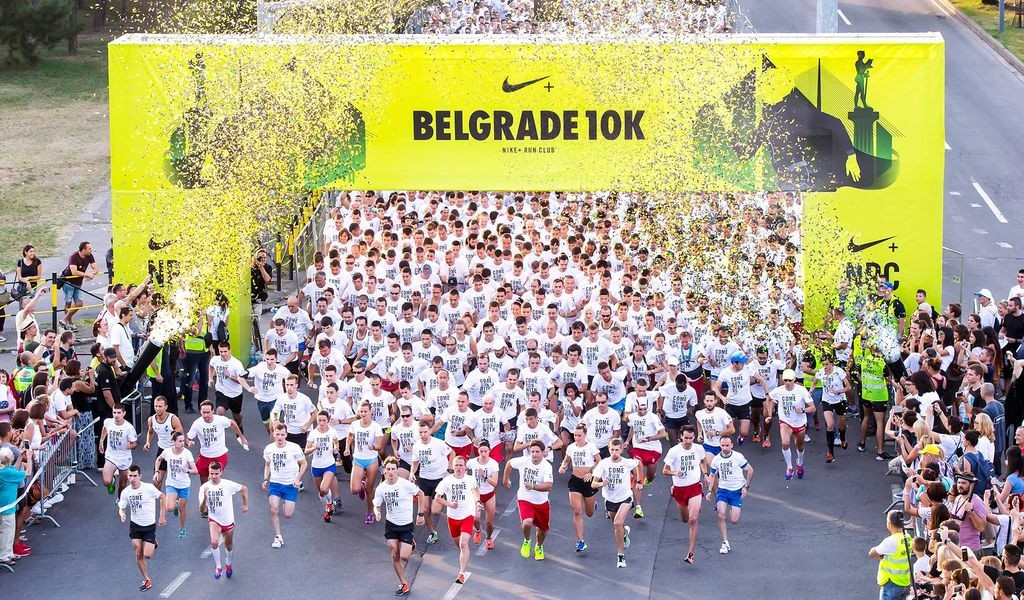 Ivana Petrovic wins third place in Belgrade Nike race