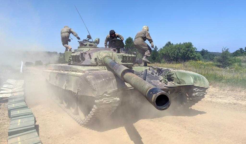 Завршне припреме за Тенковски биатлон
