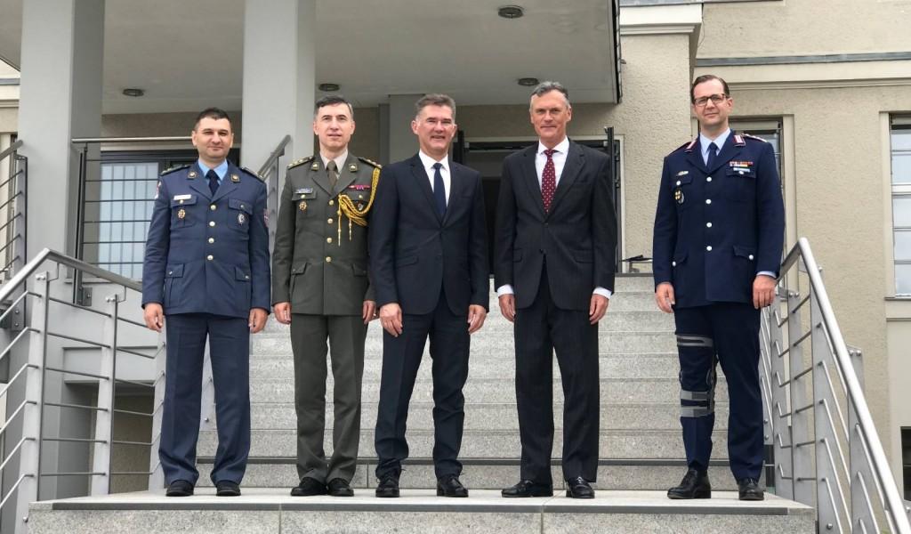 Посета делегације министарства одбране СР Немачкој