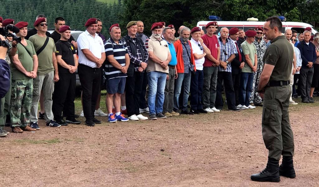 Одржан традиционални Видовдански скуп ветерана 63 падобранске бригаде