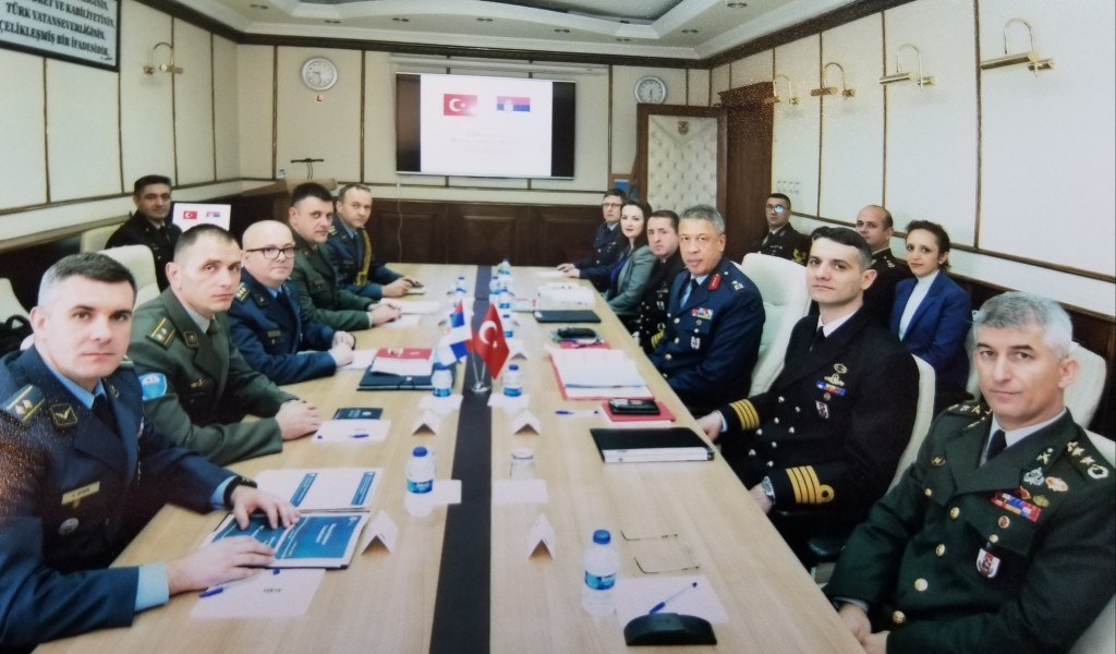 Експертски разговори о војној сарадњи Србије и Турске