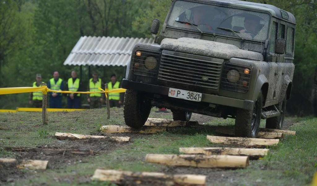 Такмичење возача моторних возила Војске Србије