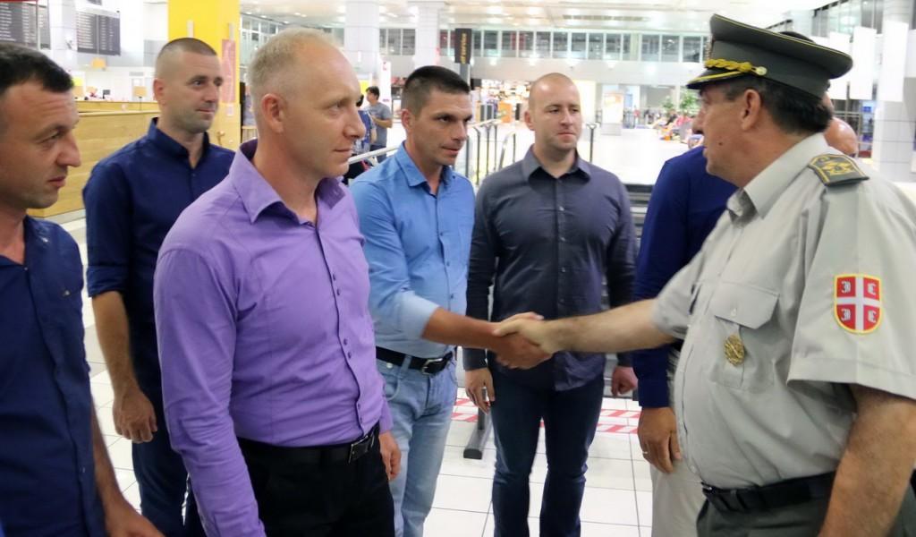 Начелник Генералштаба испратио припаднике Војске Србије на Међународне војне игре