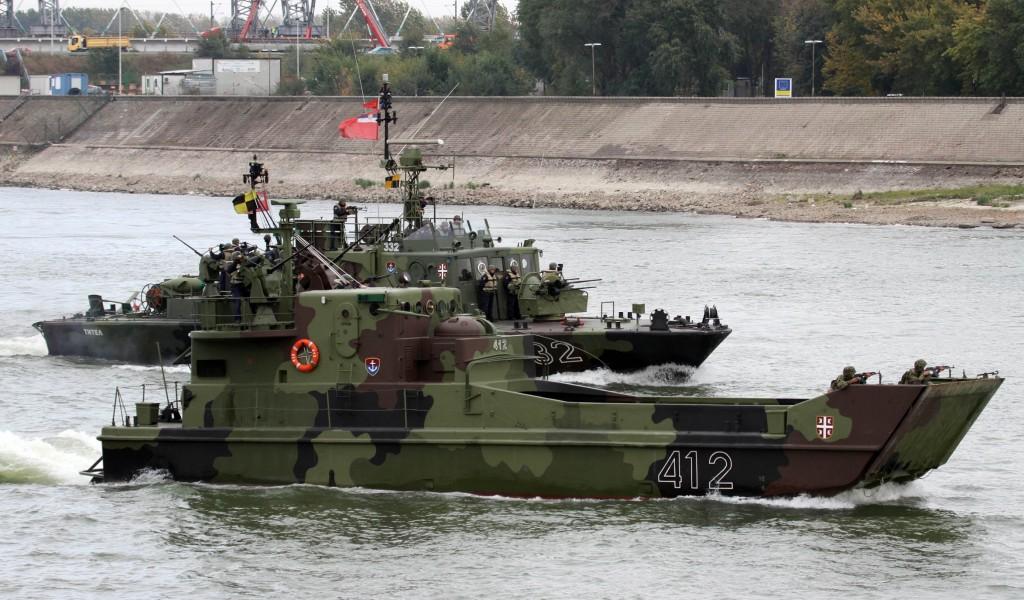 Generalna proba prikaza operativnih sposobnosti VS na svečanosti u Novom Sadu