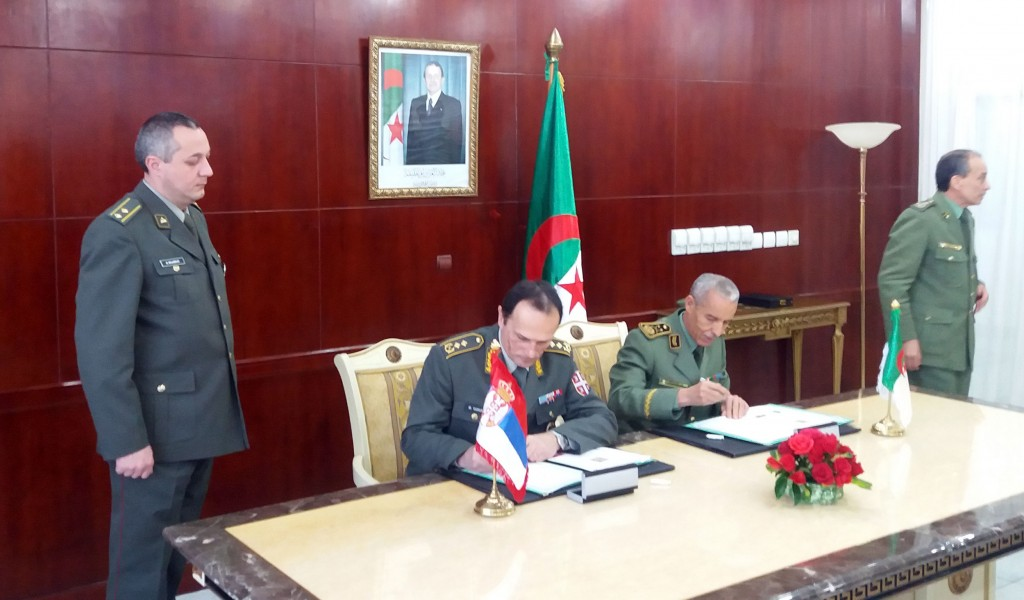 Пето заседање Meшовите српско алжирске комисије за сарадњу