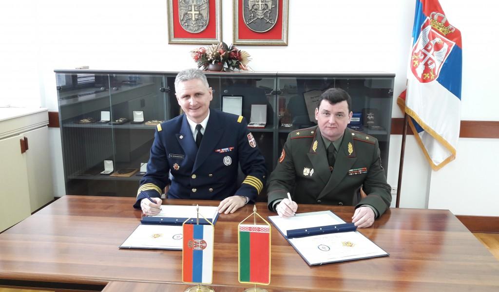 Потписан План билатералне војне сарадње са Републиком Белорусијом
