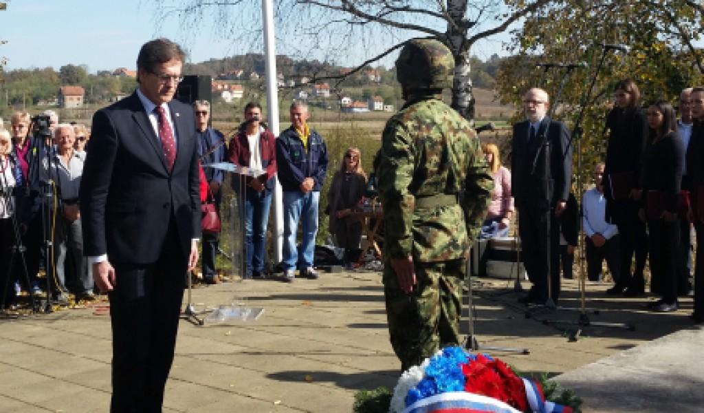Обележавање 77 годишњице страдања цивила у Драгинцу код Лознице