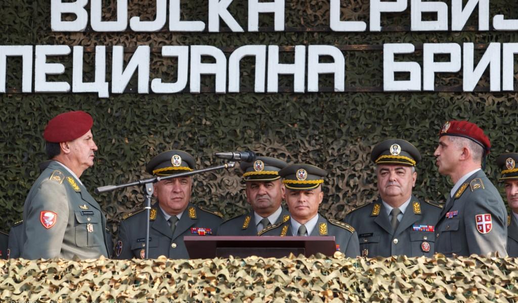 Бригадни генерал Мирослав Талијан примио дужност команданта Специјалне бригаде