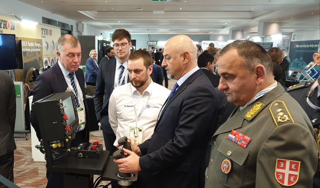 Participation in the International Armoured Vehicles Conference and Unmanned Ground Vehicles Conference