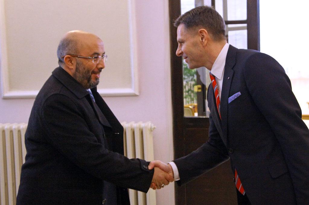 State Secretary Nikolic receives Libyan Deputy Defence Minister