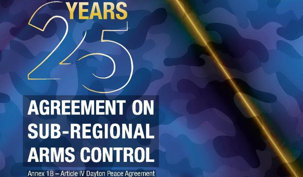 Обележавање 25 годишњице потписивања Споразума о подрегионалној контроли наоружања
