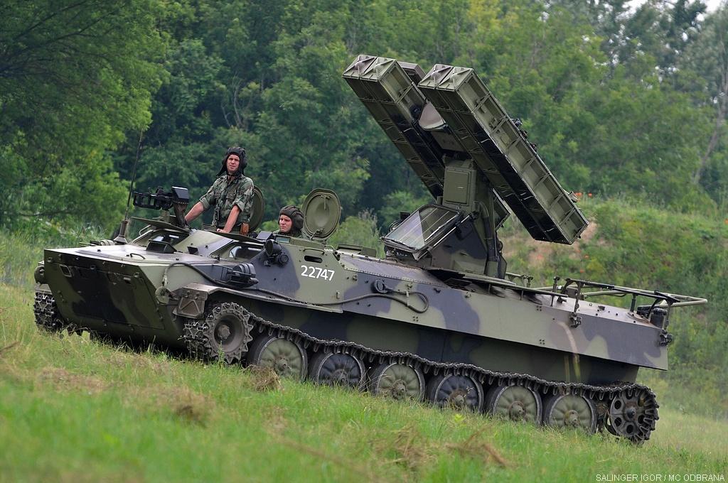Контролно тренажна гађања артиљеријско ракетних јединица за ПВД