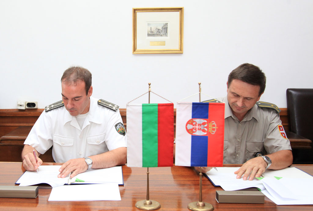 Enhanced cooperation between Serbia and Bulgaria in the field of arms control