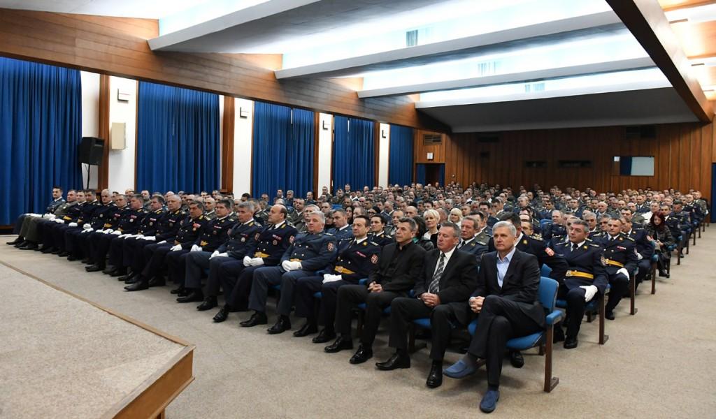 Svečanost povodom Dana Vojske Srbije u Generalštabu
