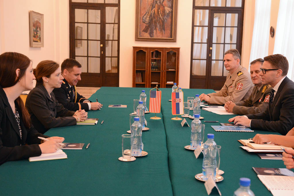 State Secreatry Nikolic meets with Assistant Deputy Secretary of Defence Evelyn Farkas