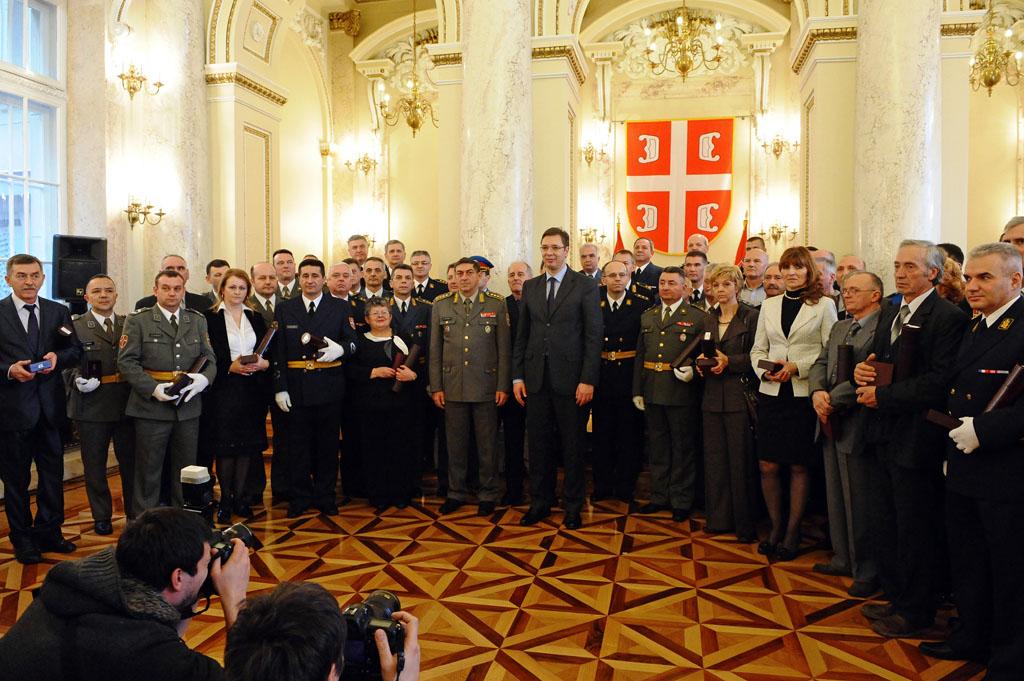Додељене медаље припадницима Министарства одбране и Војске Србије