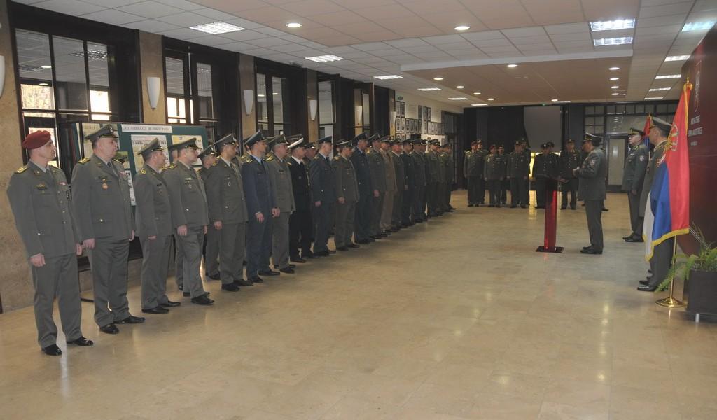 Наставна посета полазника 60 класе ГШУ Генералштабу