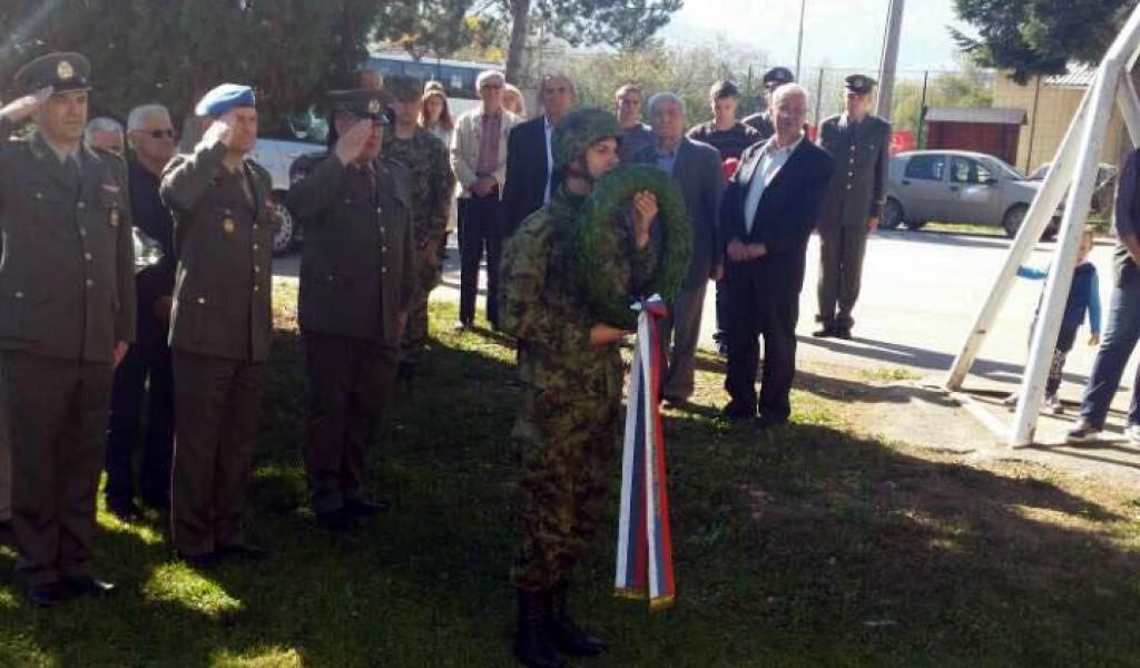 Anniversary of the death of Second Lieutenant Borko Nikitović marked