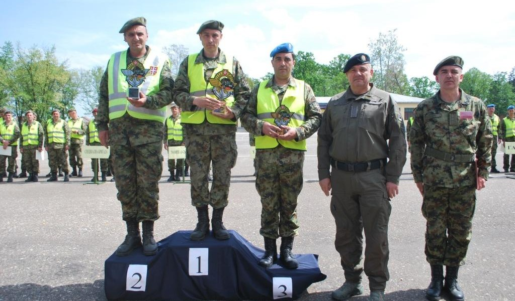 Competition of Serbian Armed Forces motor vehicle drivers