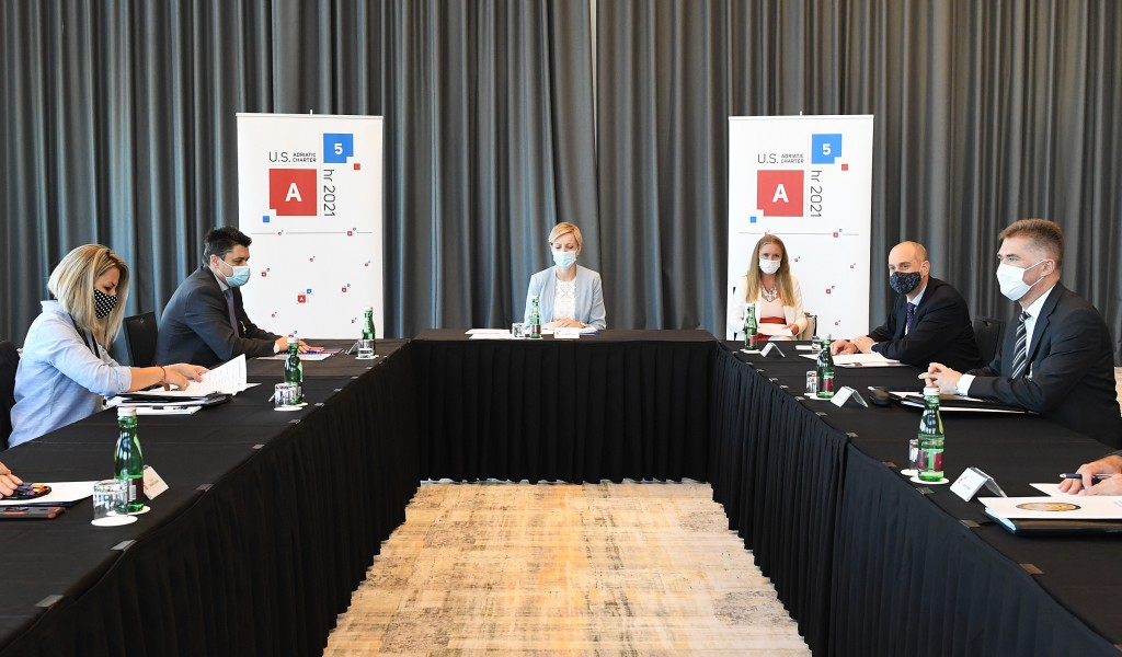 Participation in political directors meeting under A 5 initiative