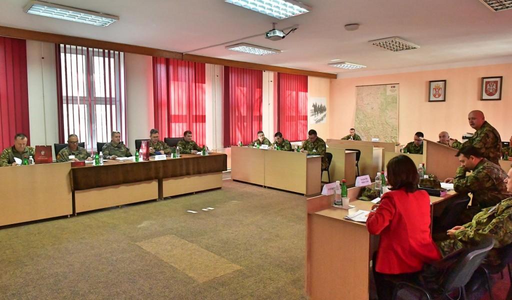 Poseta NATO delegacije za pripremu vežbe Stena 03