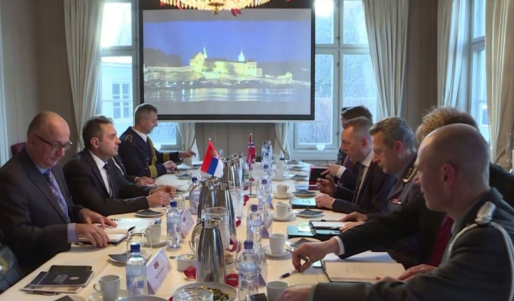 Minister Vulin Serbia and Norway will continue the cooperation in the field of military medicine