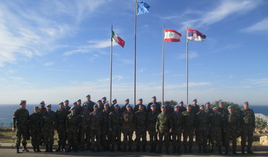 Генерал Диковић завршио обилазак контингента Војске Србије у Либану