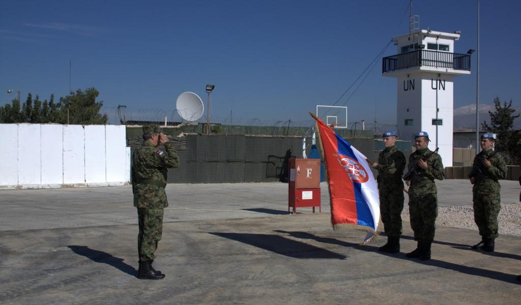 General Diković u poseti pripadnicima Vojske Srbije u misiji UN Libanu