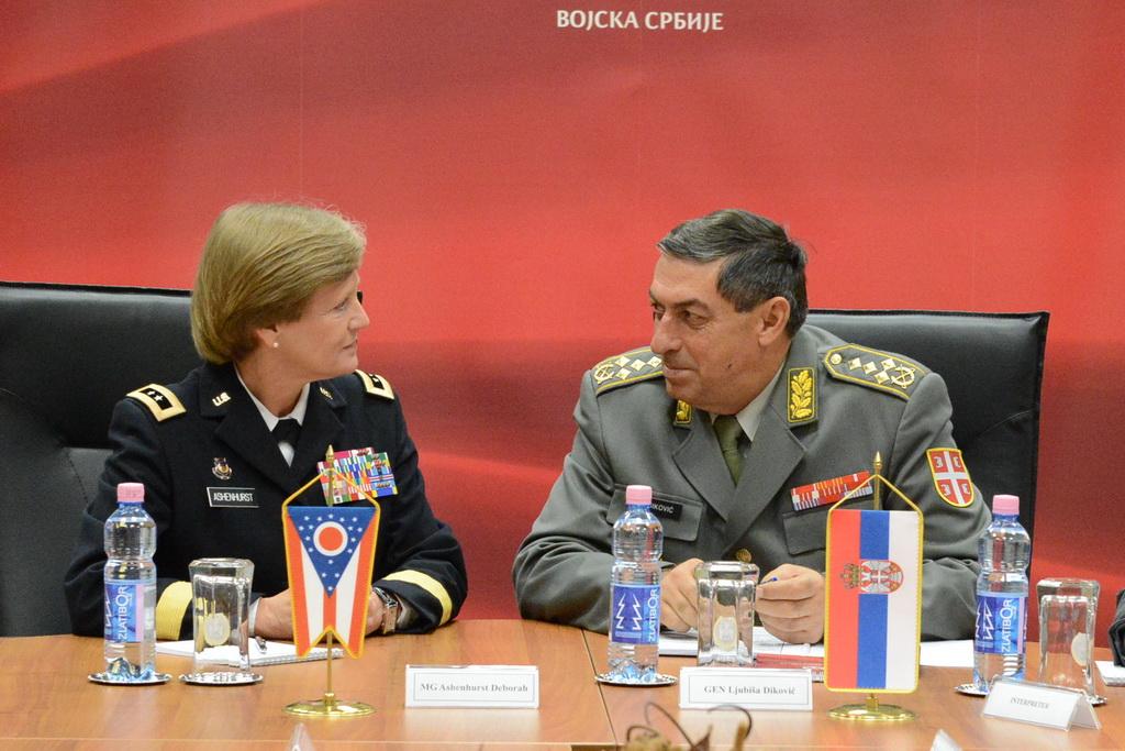 Начелник Генералштаба разговарао са командантом Националне гарде Охаја