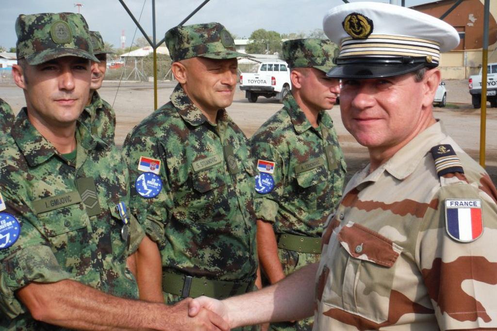 Завршетак мисије првог тима Војске Србије у операцији Аталанта