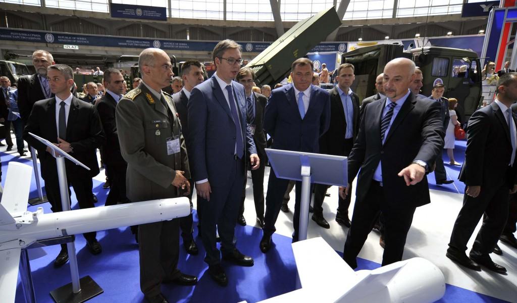Otvoren 8 međunarodni sajam naoružanja Partner